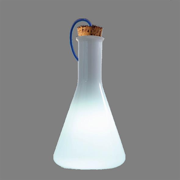 Лампа настольная Labware Conical Белый - фото 7914