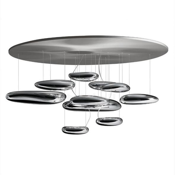 Люстра потолочная Mercury Диаметр 110 см / Высота 60 см - фото 8153