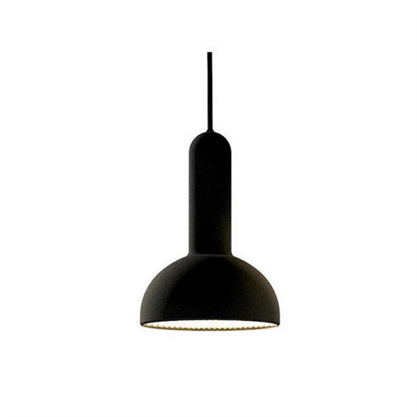 Светильник  Torch Round Small Черный - фото 8183