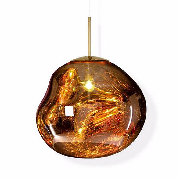 Светильник подвесной Melt Gold - фото 8203