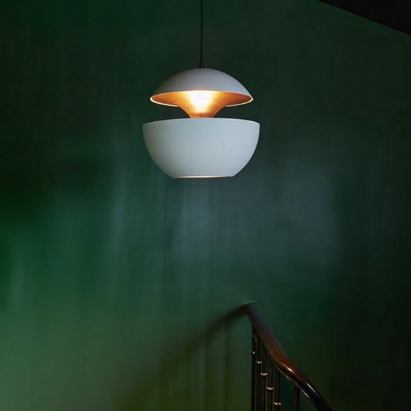 Светильник подвесной Lampe Here Comes The Sun Диаметр 35 см / Высота 33 см Белый + Белый - фото 8341