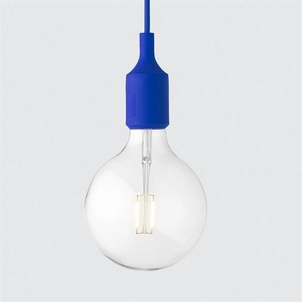 Светильник E27 Color  Синий - фото 8772
