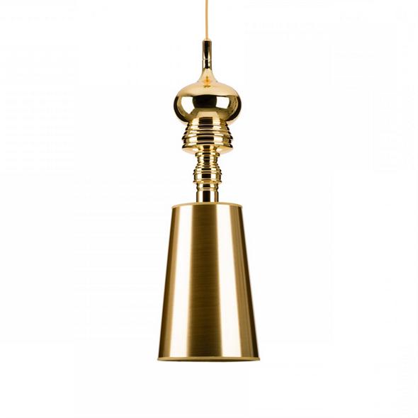 Светильник Josephine One  Диаметр 18 см / Высота 56 см Золотой - фото 8788