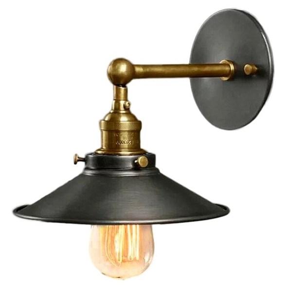 Светильник настенный Loft Cone Factory Filament - фото 8847