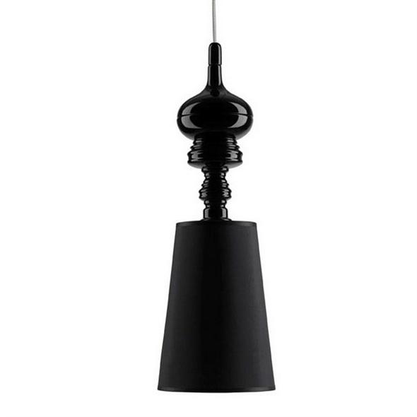 Светильник Josephine One Диаметр 18 см / Высота 56 см Черный - фото 9000