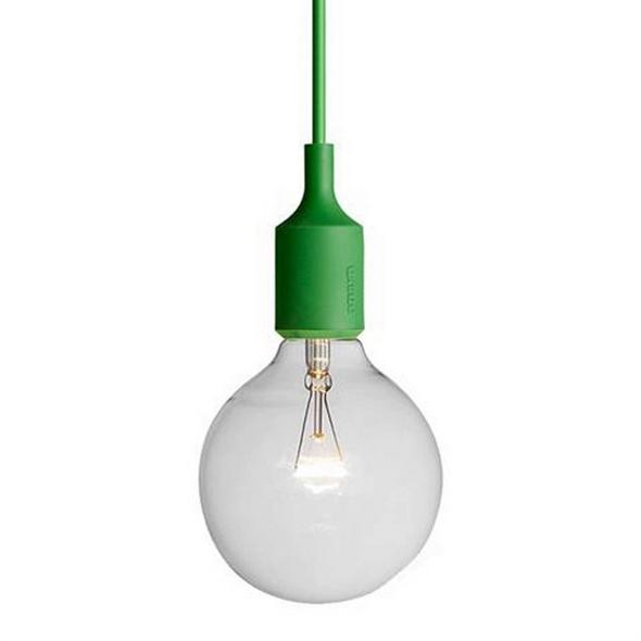 Светильник E27 Color  Зеленый - фото 9038