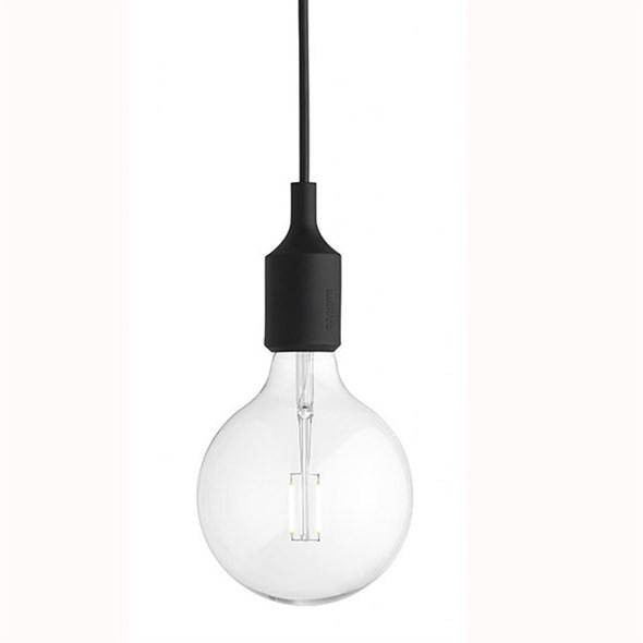Светильник E27 Color  Черный - фото 9110