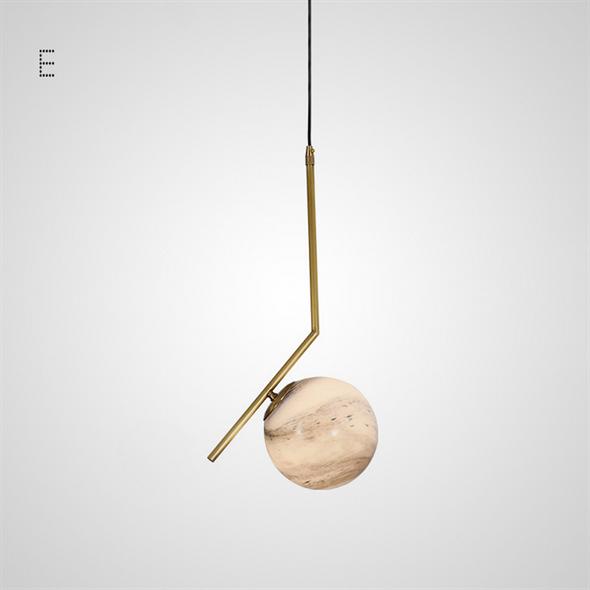 Светильник HOOP PLANET тип E золото - фото 9374