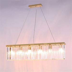Подвесной светильник New York, Gold Clear crystal L90*8*H21.5/221.5 cm