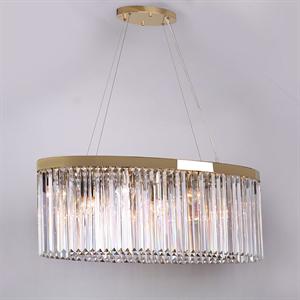 Подвесной светильник New York, Gold Clear crystal 90*30*H35 cm