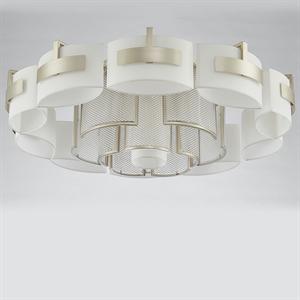 Потолочный светильник Bakersfield, Silver perla Champagne D105*H34 cm