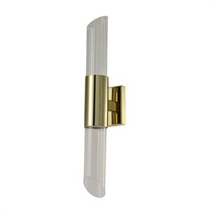 Бра Newark, Gold Clear glass L8*H50*Sp10.4 cm