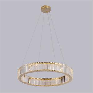 Подвесной светильник Lubbock, Gold Clear glass D62*H12 cm
