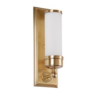 Бра American style, Brass Matt glass L12*H36*Sp10 cm