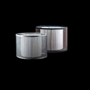 Абажур к 1600 двойной серебристый / белый плиссированный внутри D18*H12.5 cm