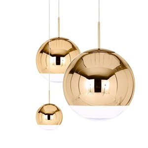 Люстра Mirror Ball Gold IV D15/25/40