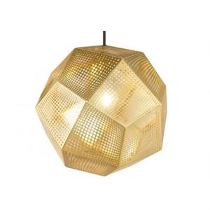 Светильник Etch Shade  Диаметр 32 см Золотой