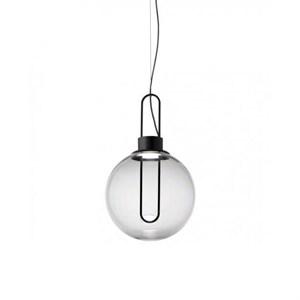 Светильник подвесной Orb Black D25