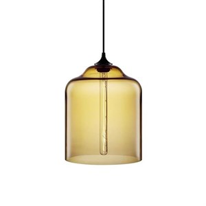 Светильник подвесной Bell Jar Amber