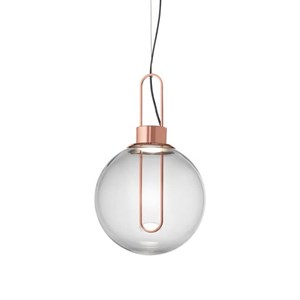 Светильник подвесной Orb Copper D40