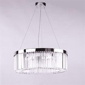 Люстра New York, Nickel Clear crystal D70*H22.5/120 cm