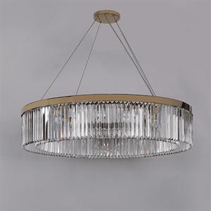 Люстра New York, Gold Clear crystal D110*H23/123 cm