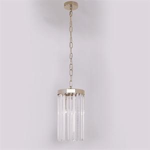 Подвесной светильник New York, Gold Clear crystal D18*H32/132 cm