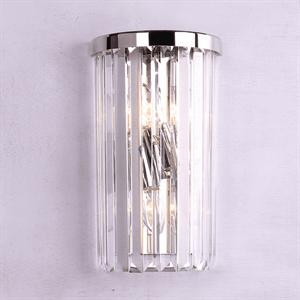Бра New York, Nickel Clear crystal L18*H30*Sp10 cm