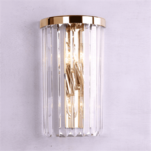 Бра New York, Gold Clear crystal L18*H30*Sp10 cm