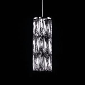 Подвесной светильник Los Angeles, Chrome Clear crystal D12*H31,5 cm