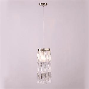 Подвесной светильник Los Angeles, Polished champagne gold Clear crystal D12*H31,5 cm