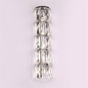 Бра Los Angeles, Chrome Clear crystal L14*H52.5*Sp9 cm