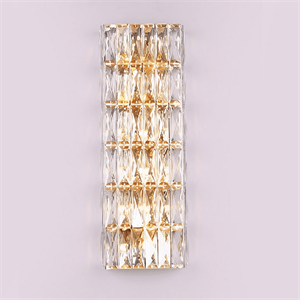 Бра Los Angeles, Gold Clear crystal L22*H51*Sp5 cm