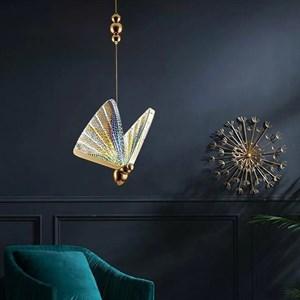 светильник The Magic Butterfly разноцветный 18 см