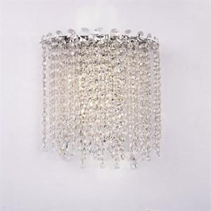 Бра San Antonio, Chrome Clear crystal L31*H30*Sp15 cm