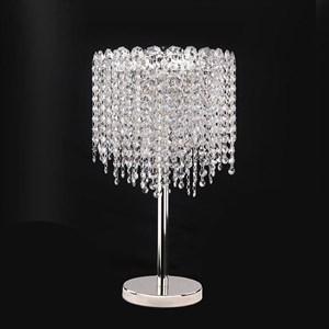 Настольная лампа San Antonio, Chrome Clear crystal D30*H50 cm