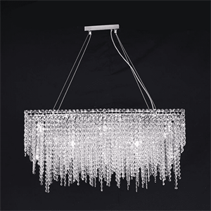 Люстра San Antonio, Chrome Clear crystal 88*40*H50/150 cm