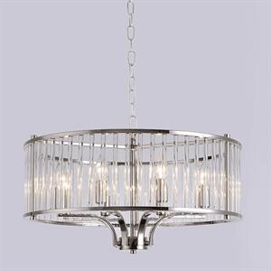 Подвесной светильник San Jose, Nickel Clear crystal D60*H30/130 cm