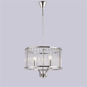 Подвесной светильник San Jose, Nickel Clear crystal D40*H30/130 cm