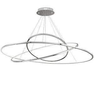 Подвесной светильник Indianapolis, Chrome 130*62*H200 cm