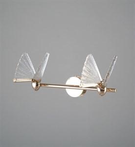 Бра The Magic Butterfly Double прозрачная