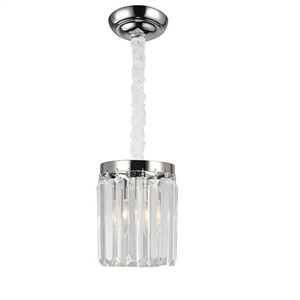 Подвесной светильник Portland, Nickel Clear crystal D14*H18/118 cm