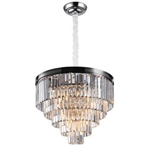 Подвесной светильник Portland, Nickel Clear crystal D55*H45/145 cm