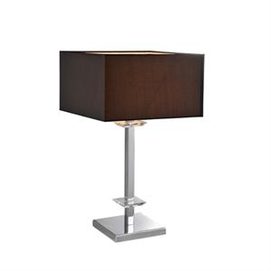 Настольная лампа Atlanta, Chrome Clear crystal D35*H60 cm БЕЗ АБАЖУРОВ