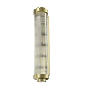 Бра Kansas City, Matt brass Clear glass L12*Н60*Sp13.5 см