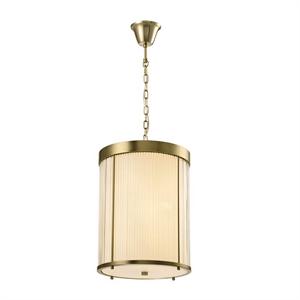 Подвесной светильник Kansas City, Matt brass Clear glass D29*H38 сm
