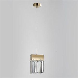Подвесной светильник New Orleans, Gold Clear L18*H20*Sp15 cm