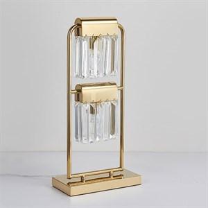Настольная лампа New Orleans, Gold Clear L25*H52 cm