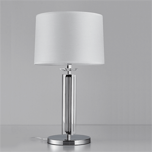 Настольная лампа Pittsburgh, Chrome Clear crystal D40*H88 cm БЕЗ АБАЖУРОВ