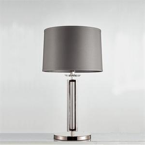 Настольная лампа Pittsburgh, Black nickel Clear crystal D40*H88 cm БЕЗ АБАЖУРОВ